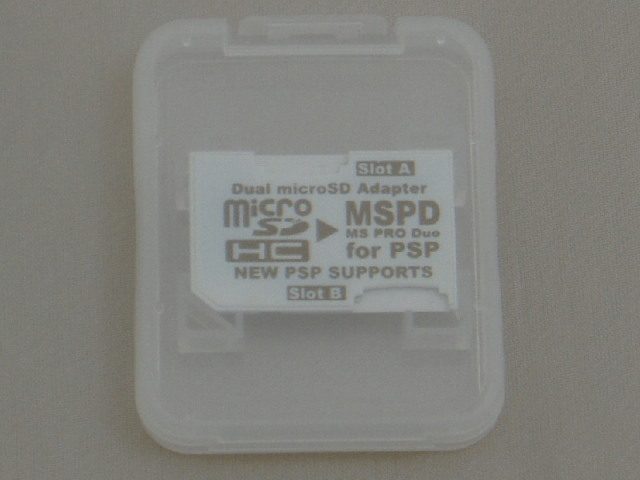 MSPDデュアル変換アダプタバルク2